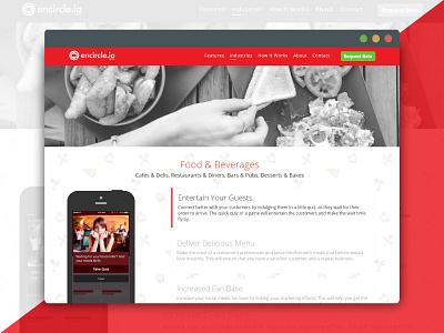 Encirclei.o Industry - Individual design website proximity platform ux ui icon platform product web app encircleio