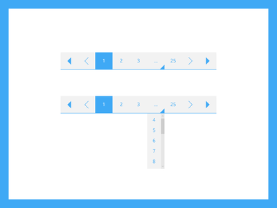 Pagination | Daily UI #85