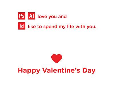 Valentine's Day graphic minimalistic minimal indesign illustrator photoshop adobe design designer valentines day valentines valentine