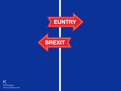 In today's news | Brexit signage news eu brexit