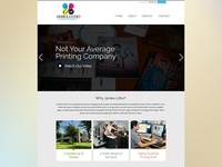 Printing Co.'s Homepage Rebound