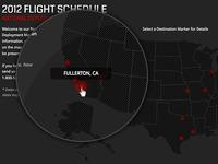 Flight Map RollOver