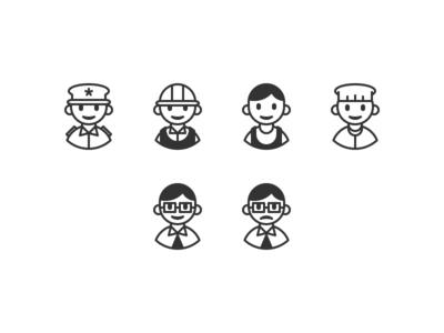 employment pictograms illustration pictogram iconset iconography icon