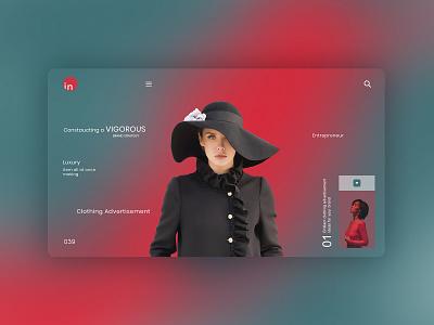 Vigorous UI Concept flat design character design abode uiux photoshop behance webdesign motion graphics app ui logo illustration graphic design design branding animation adobe photoshop 3d