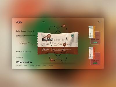 Whole the truth bar UI Concept whole truthbar google instagram behance websitedesign motion graphics ui logo illustration graphic design design branding app animation adobe photoshop 3d