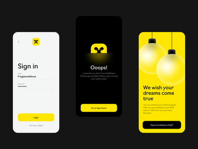 More Screens for Spending Highlights illustration concept glossy interaction mobile adaptive finance bank design interface clean ux ui