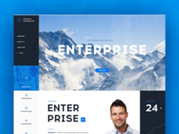 Second concept of enterprise site
