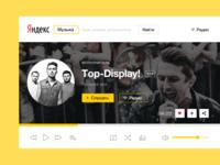 Yandex.Music concept