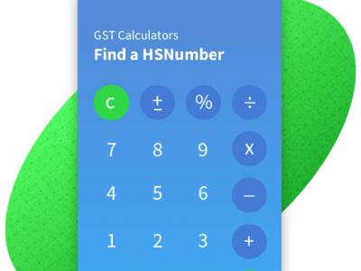 Calculator design ui design fintech