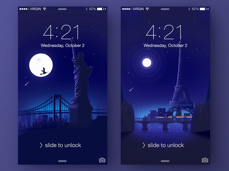Wallpaper For Your Phone liberty of statue tower eiffel illustration freebies download interface app