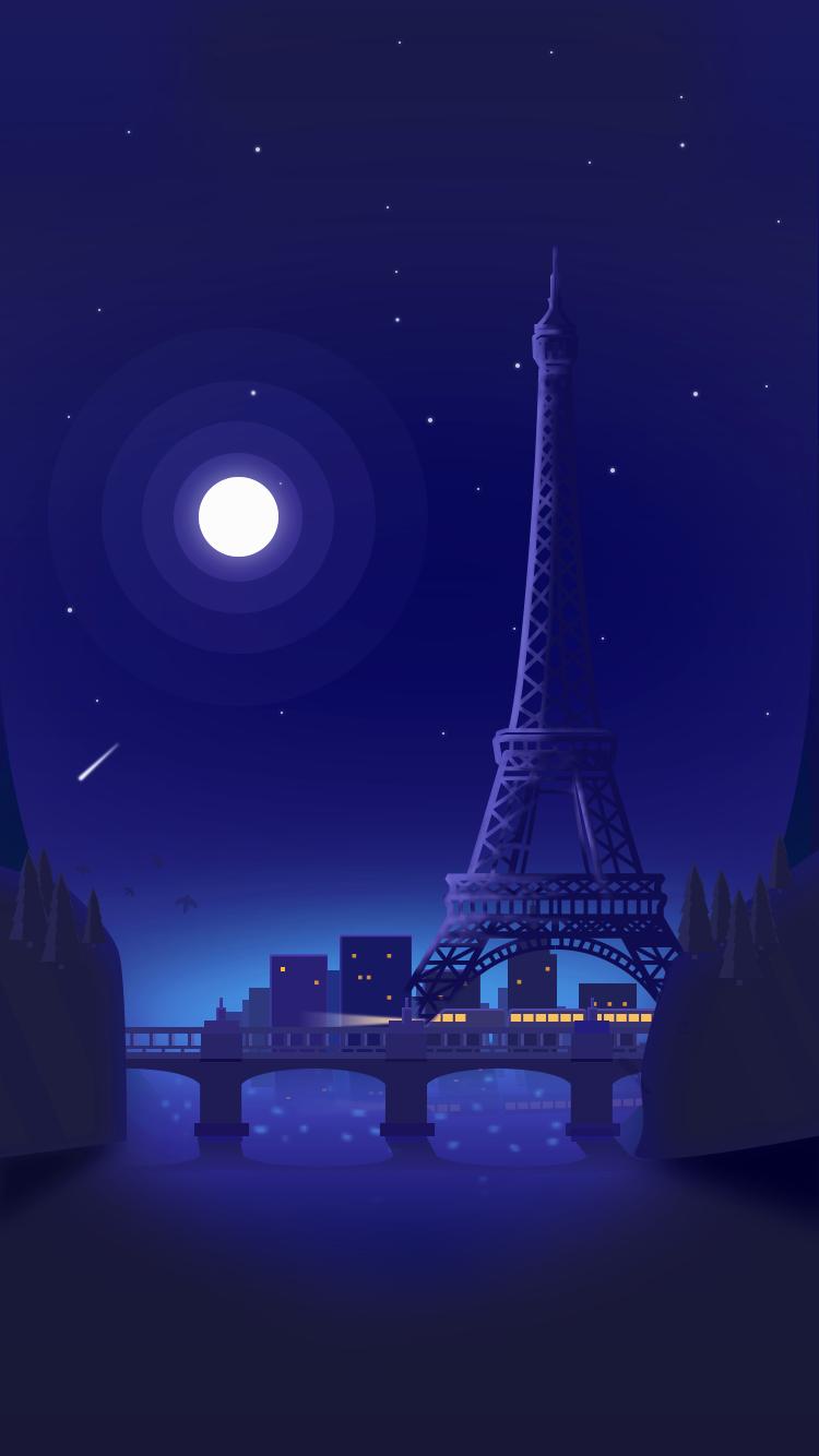 night sky wallpaper phone