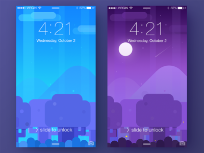 Mobile Wallpapers ui mobile iphone interface illustration free download colors wallpaper background