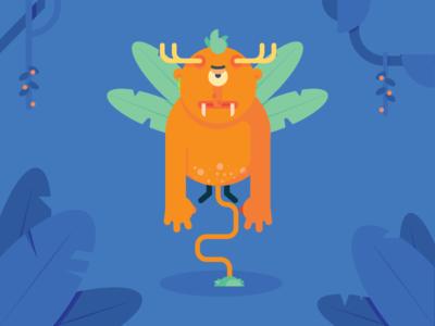 Flying Forest Troll