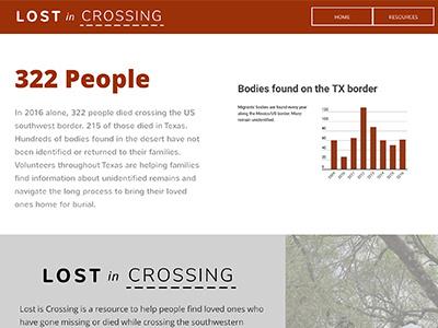 Lost In Crossing hackathon immigrants civichack