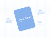Free Wireframe for Book Landing Page