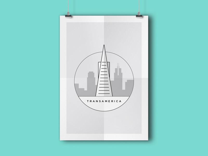 Transamerica landmark ca sf california san francisco skyscraper tower transamerica