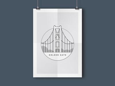 Golden Gate Bridge landmarks ca sf california san francisco bridge golden gate
