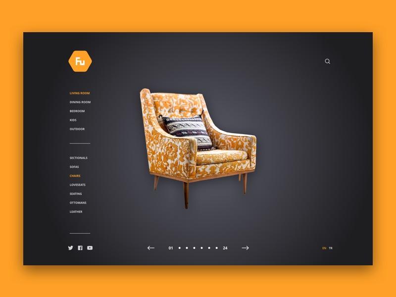 Fu for Furniture gallery web design website furniture
