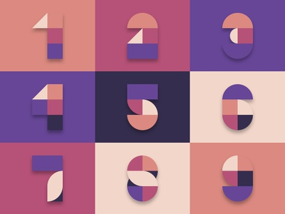 Numerals digit numeral number