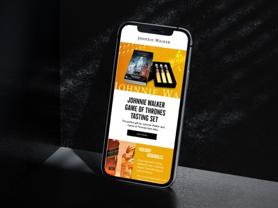 Johnnie Walker Email Campaigns