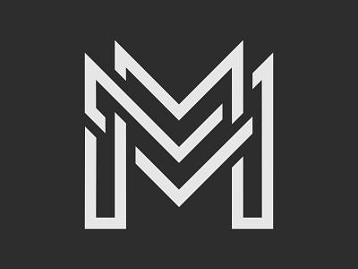 Monogram M Logo vector logo branding