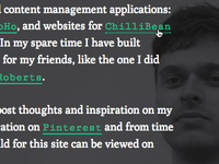 Website Rework