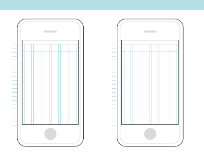 tired of drawing amorphous iphones by hand for wireframes ive make a konigi style graph paper looks great once printed