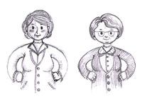 Sketching mums