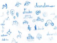 Rough logo Sketches
