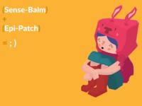 Sense-Balm + Epi-Patch