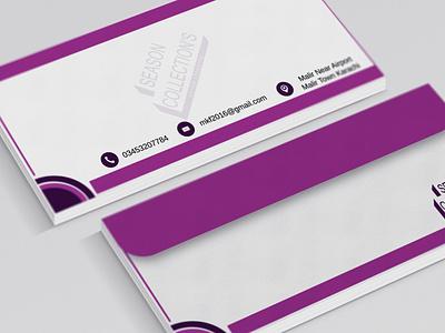 envelope stationery logo design branding graphic design