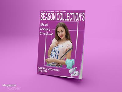 magazine cover stationery design graphic design branding flyer poster magazine cover