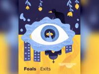 Foals - Exits (music artwork)