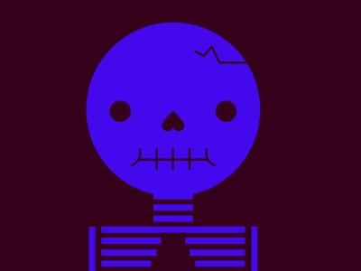 Day 26 Skull vector halloween 31daysofskulls skull