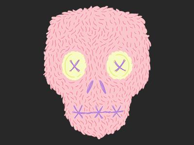 Day 27- Plush Skull plush halloween 31daysofskulls skull