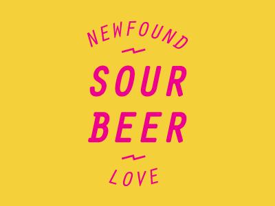 S O U R  B E E R  🍻 love yellow pink type beer
