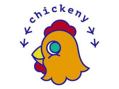 chickeny chickeny! outline animal farm bird hen chicken
