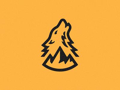 Howl - Work in Progress mountain howl wolf logo