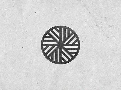 Mill Stone Icon geometric icon stone mill bread