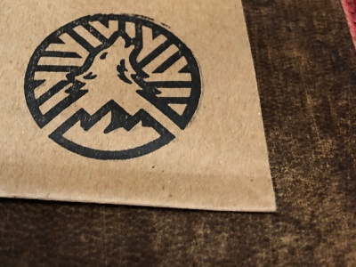 Howell Mountain Stamp bread stamp logo mountain howell