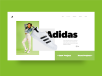 Projects page
