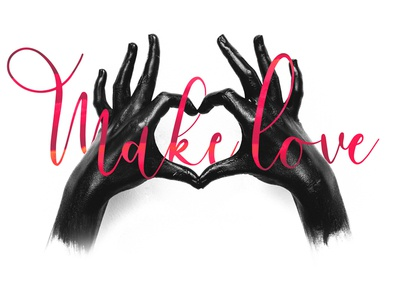 Make Love using Bouncy Castle font typography type lettering handwritten handmade hand lettering font design font creative calligraphy