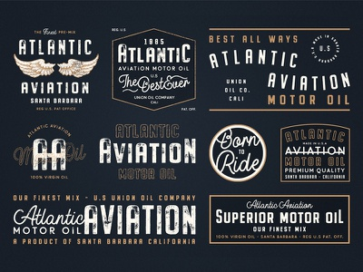 Buckwheat Font Collection lettering hand lettering vintage logo design logo typography font