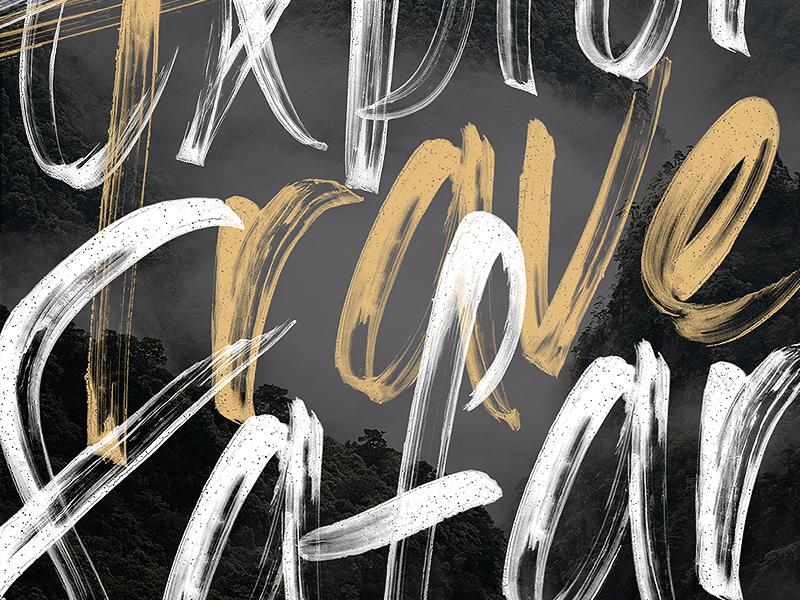 Meraki - An SVG Script Font custom lettering custom type type svg font colorfont svg lettering hand lettering typography font script