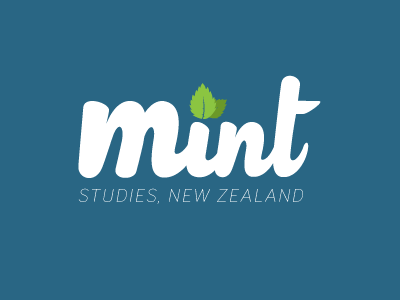 Mint Logo education creo logo mint studies concept