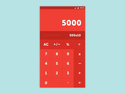 Daily Design 003 - Fat Calculator dailyui fat calculator designeveryday motivation nickblanchecreative nickblanche 003 calculator