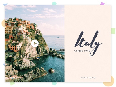 Daily Design 008 - Italy daily ui dailydesign blanche nickblanche design holiday travel italy