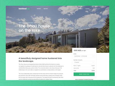 House on the lake nick blanche architect new zealand ohau
