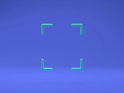 OCR Scanning quizlet icon design iconography icons illustration cinema4d c4d