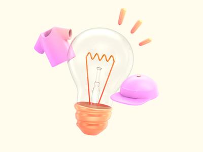 Merch Ideas c4d render 3d design illustration cinema4d